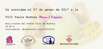 Taula rodona Dona Balàfia 2017,2