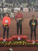 Arnau Erta Majó es proclama sots-campió d'Espanya absolut dels 60mt