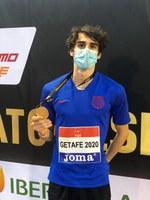 Bernat Erta, campió d'Espanya amb marca personal