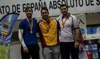 Bronze de Miquel Àngel Pifarré del Club Tir amb Arc Pardinyes al campionat d'Espanya de Tir en sala Absolut