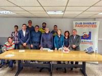 El Club Bàsquet Pardinyes presenta el primer equip de Lleida de bàsquet en cadira de rodes