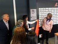 El Força Lleida bateja la sala de premsa del Barris Nord amb el nom de Marc Retamero