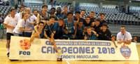 El Real Madrid revalida el títol de campió d'Espanya Cadet de Basquet al Barris Nord