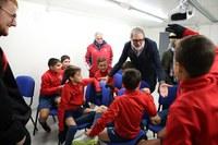 """Fèlix Larrosa defineix l'esport base com a una de les """"joies"""" de la ciutat a preservar per la funció formativa i de cohesió social"""