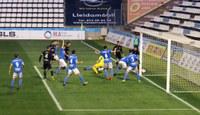 Important victòria del Lleida davant l'Ebro al Camp d'Esports (1-0)