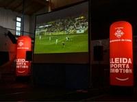 L'Ajuntament de Lleida habilitarà el pavelló dels Camps Elisis amb una pantalla gegant per seguir el Sevilla- Lleida Esportiu i l'Itàlia- Espanya