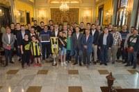 L'Ajuntament de Lleida homenatja el Club Bàsquet Pardinyes pel seu ascens a la categoria Leb Plata