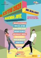 La nova Agenda Jove Estiu 2020 de la Paeria promou la creació, l'esport, l'art urbà, el ball i la natura
