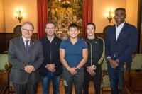 La Paeria rep la judoka lleidatana Ai Tsunoda, campiona del món cadet