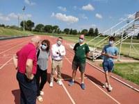 La Paeria ultima les mesures de seguretat a les pistes d'atletisme de Les Basses per obrir dijous