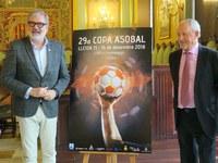 Lleida serà capital de l'handbol els dies 15 i 16 de desembre amb la Copa Asobal