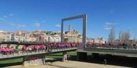 Lleida surt al carrer per unir-se a la lluita contra el càncer de mama