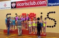 Més de mig miler d'esportistes participen en el Trofeu de Gimnàstica Rítmica del Sícoris