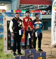 Miquel Àngel Pifarré bronze al Campionat d'Espanya Absolut de tir amb arc en sala