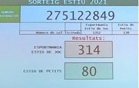 Número de sorteig ESPORTMANIA