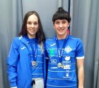 Primeres medalles de les nadadores del Club Natació Lleida al Campionat d'Espanya infantil i júnior de Gijon que acaba aquest dimarts, dia 21