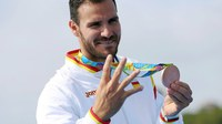 Recepció a la Paeria al doble medallista a Rio, Saúl Craviotto