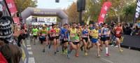 Ricard Pastó i Eva Ledesma, vencedors de la Mitja Marató Ciutat de Lleida