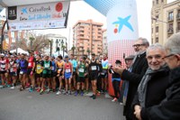 Ricard Pastó i Eva Ribalta triomfen en la Sant Silvestre de Lleida