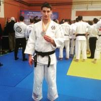 Rubén Cabanillas sots-campió d'Espanya de Jiu-Jitsu