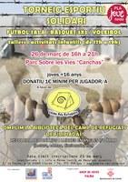 Torneig Esportiu Solidari a favor de la plataforma Lleida pels Refugiats