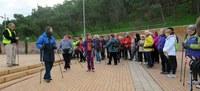 Un centenar de persones en la Marxa Nòrdica en honor a Granados