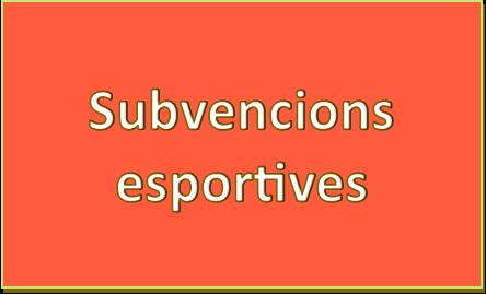 Subvencions