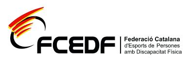 Federació Catalana d'Esports de  Persones amb  Discpaciatat Física