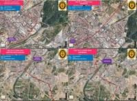 Afectacions de trànsit amb motiu de la celebració de la 59a Volta Ciclista Internacional de Lleida