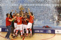 El Reus Deportiu es proclama campió d'Europa d'hoquei al Barris Nord