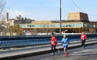 La cursa La Sansi Lleida aplega 600 participants i corona com a guanyadors Víctor Puyuelo i Joana Tomé