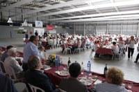 La Gent Gran de Lleida clou el programa d'activitats amb un dinar de germanor