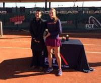 La tenista lleidatana Aran Teixidó es proclama campiona de Catalunya júnior