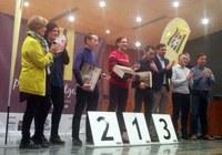 La tinent d'alcalde i regidora d'Esports, Montse Parra, participa a la gala del Circuit Mitges de Ponent