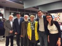 La tinent d'alcalde Montse Parra, en la cloenda del Campionat d'Espanya de Pàdel i Escacs per a Sords