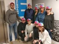 L'equip del Servei d'esports ens posem la gorra!!
