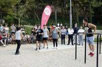 Lleida estrena un nou espai per a la pràctica d'esport a l'aire lliure al Parc de Santa Cecília
