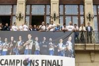 Lleida ret homenatge als seus campions