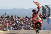 Marc Márquez es referma en el lideratge del Mundial després de la victòria al GP d'Aragó