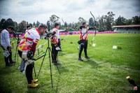 Miquel Àngel Pifarré al campionat del món de tir amb arc