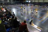 Primer torneig Ciutat de Lleida de Bàdminton al Pavelló Juanjo Garra