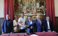 Saúl Craviotto renova el seu compromís amb Lleida